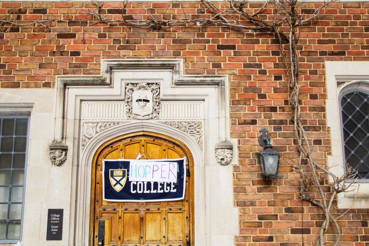 Yale University announced Friday that they would change the name of Calhoun College by July, but some students couldn't wait.
