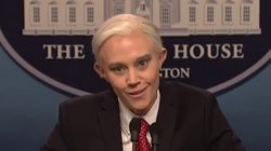 Kate McKinnon Plays Jeff Sessions On 'SNL' Because She Can Be Literally