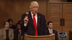 Alec Baldwin's Donald Trump Takes His Grievances To 'The People's Court' On
