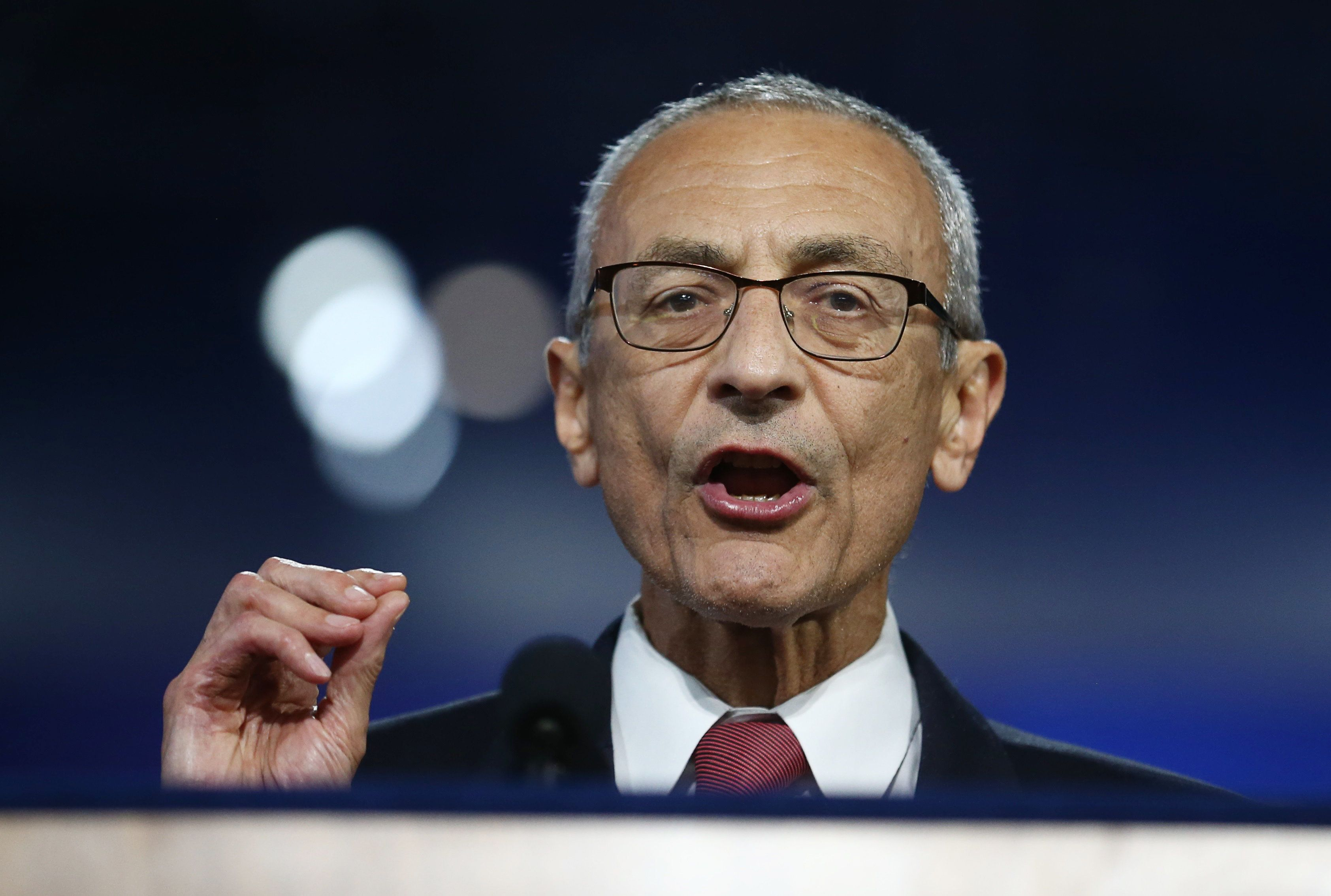 John Podesta Says 'Forces Within The FBI' Wanted Hillary Clinton To