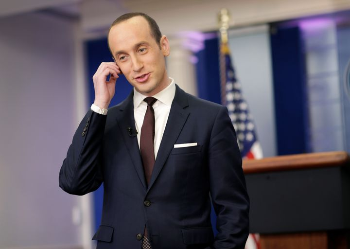 White House senior adviser Stephen Miller made the rounds on Sunday's political shows.