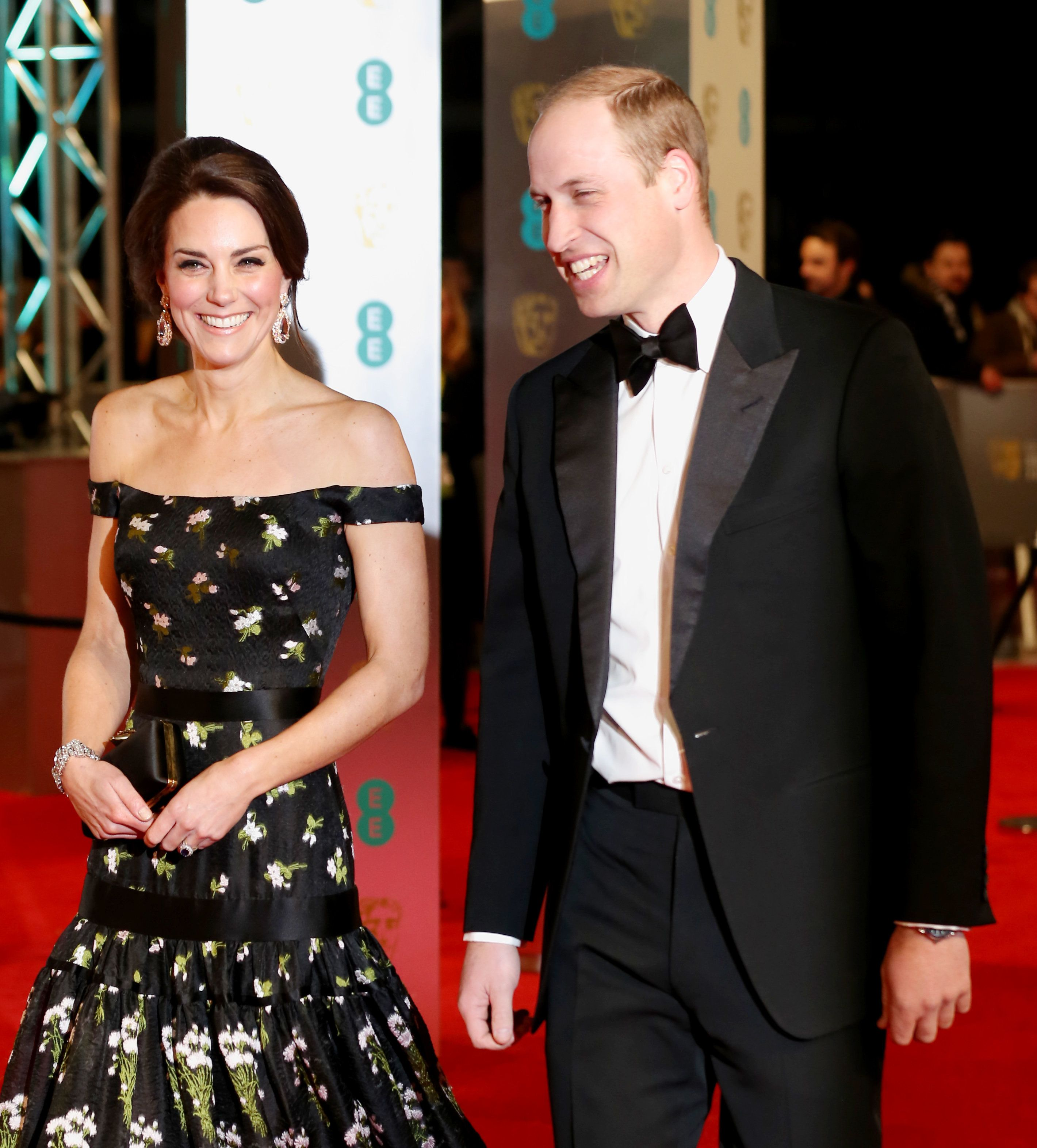 BAFTAs 2017: The Duke And Duchess Of Cambridge Led The Best Dressed Couples On The Red