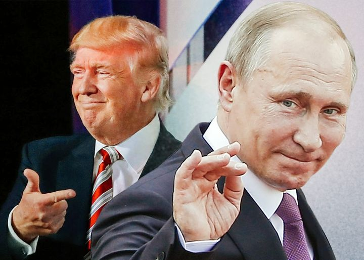 Image result for photo of putin and trump