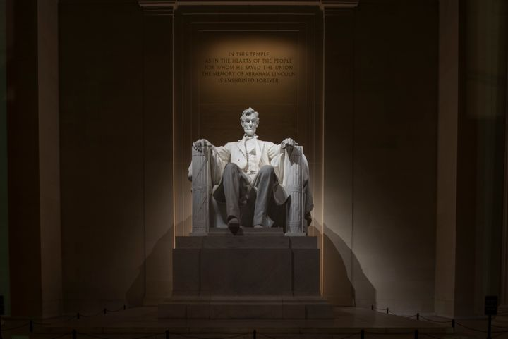 The Republican National Committee honored President Abraham Lincoln's 208th birthday with a quote that he most likely&nb