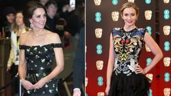 McQueen Dresses Ruled The BAFTAs Red