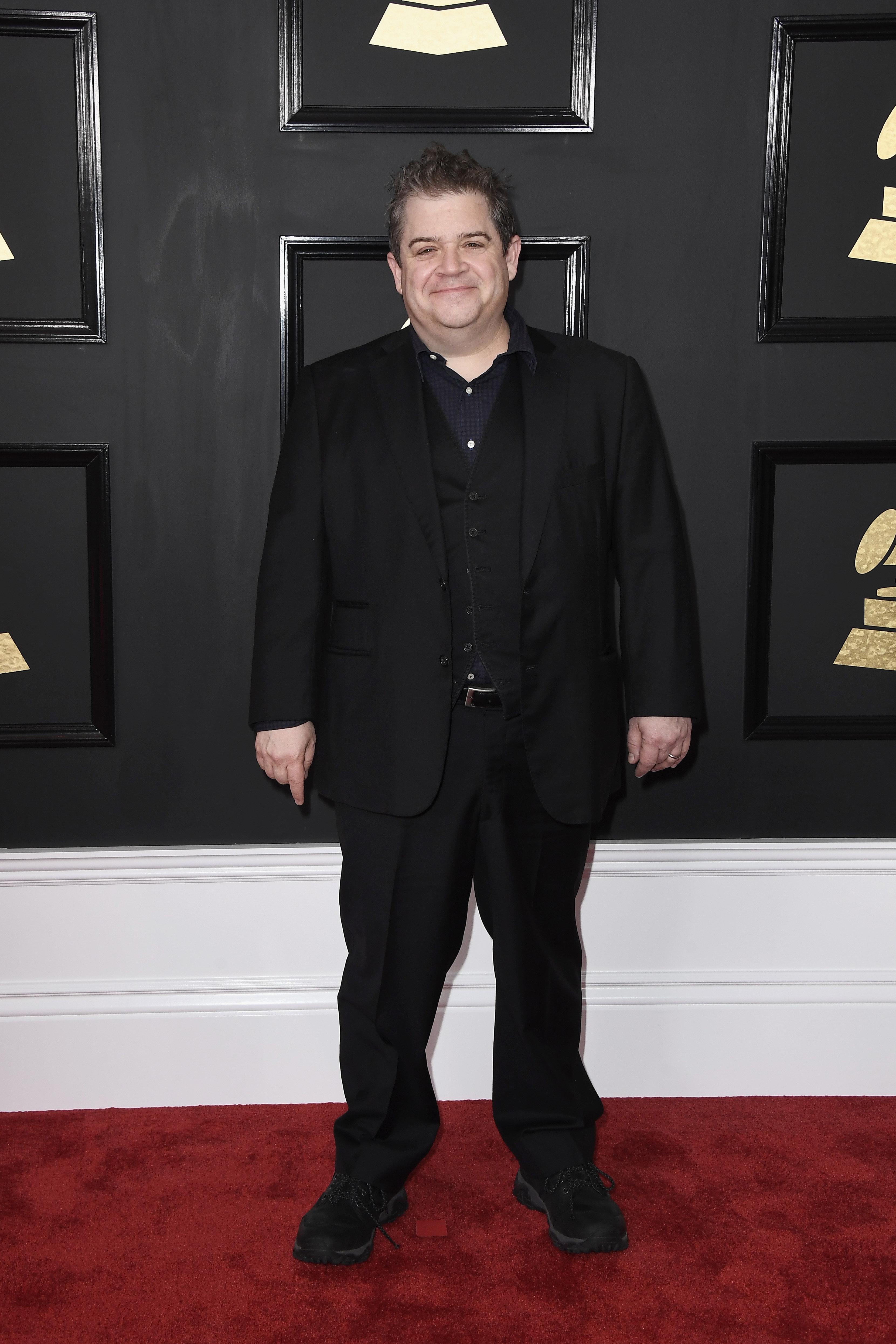 Patton Oswalt just won his first Grammy award.