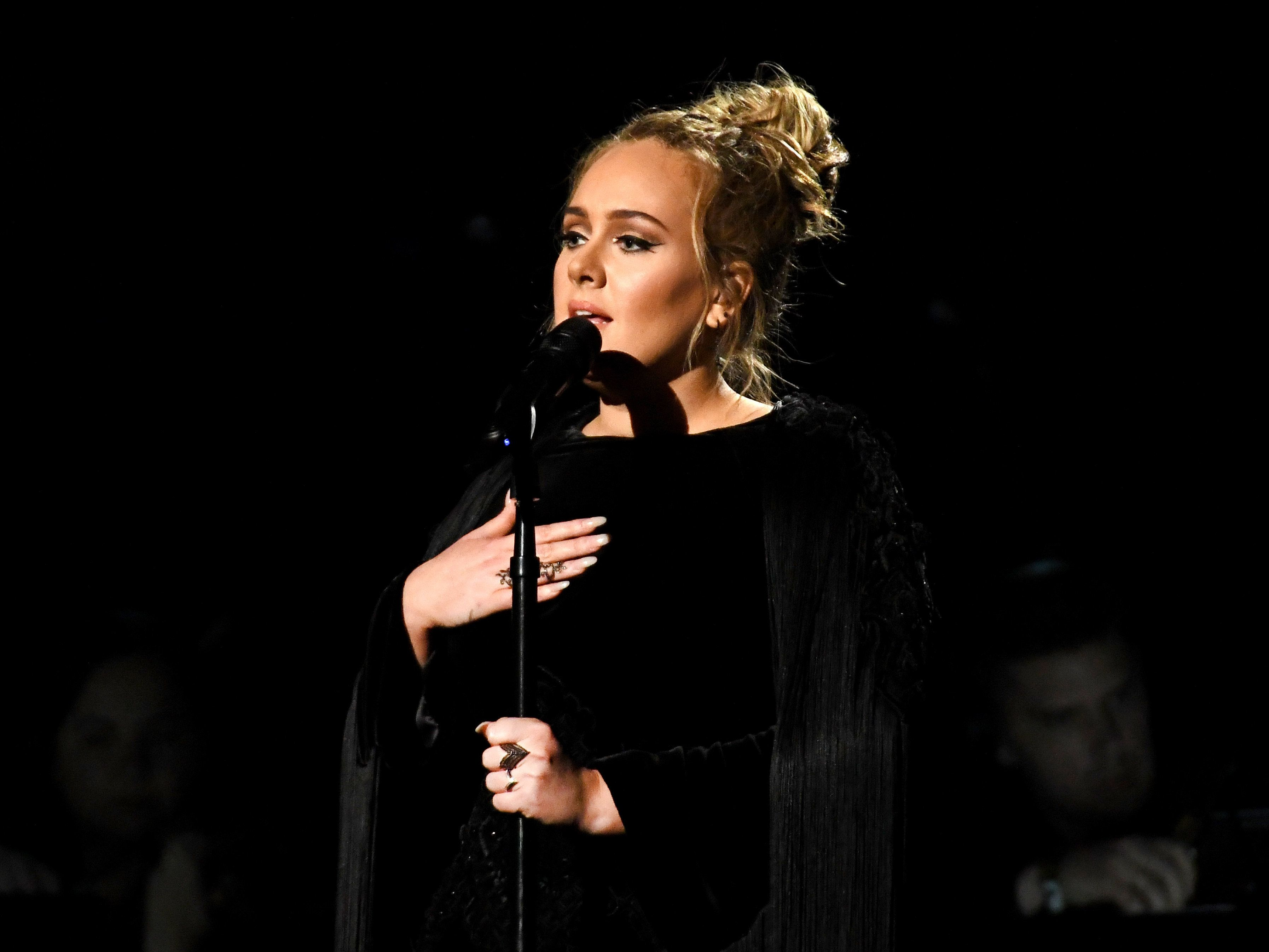 Adele Restarts Touching George Michael Tribute At The Grammys: 'I Can't Mess This Up For
