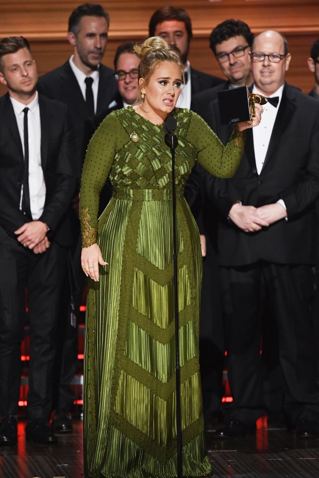 Adele explains why she 'can't accept' Album Of The