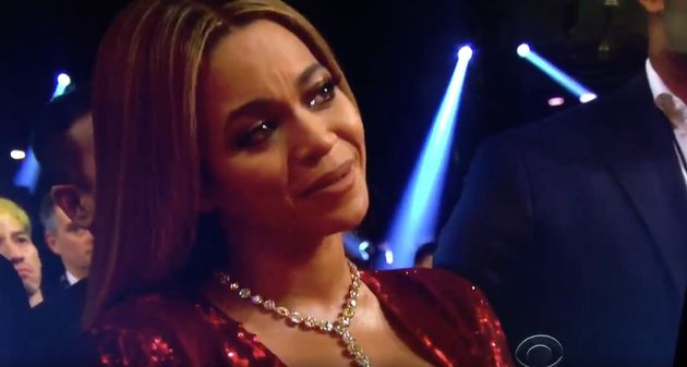 Beyoncé was visibly moved by Adele's