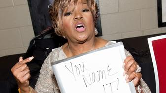 ATLANTA, GA - JANUARY 21:  Shirley Caesar poses backstage during the 25th Annual Trumpet Awards at Cobb Energy Performing Arts Center on January 21, 2017 in Atlanta, Georgia.  (Photo by Marcus Ingram/WireImage)