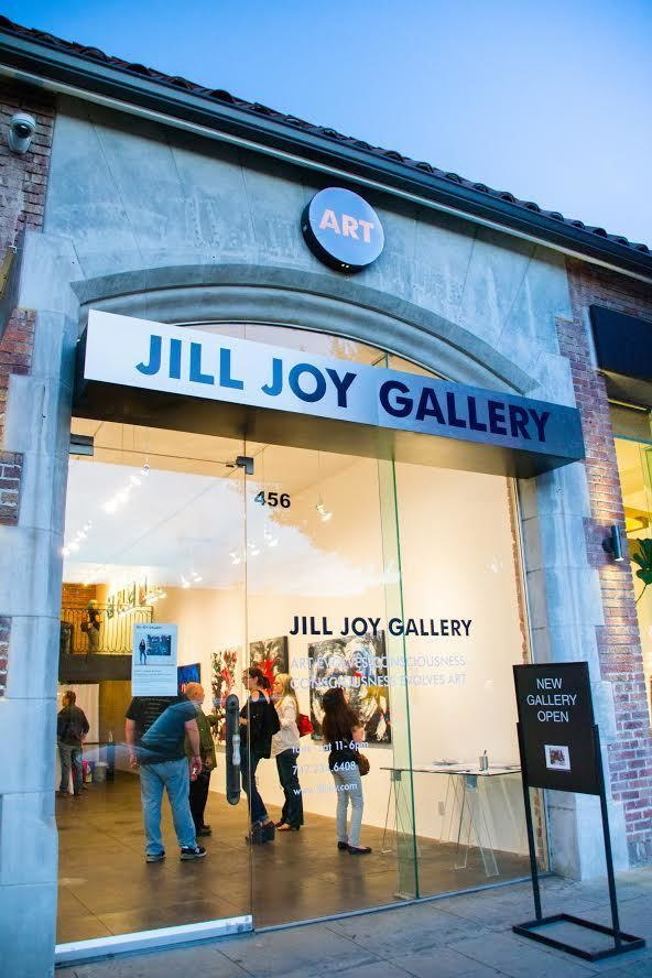 "The <a rel=""nofollow"" href=""http://www.jilljoy.com/"" target=""_blank"">Jill Joy Gallery</a> in Los Angeles."