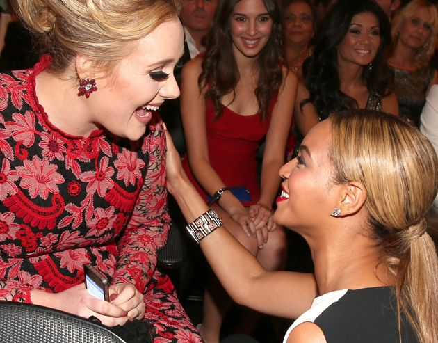 Adele Split Her Grammy In Two In Honor Of Beyoncé