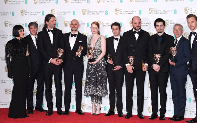 'La La Land' scooped the biggest gong of the