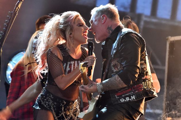 Lady Gaga teamed up with Metallica at the