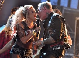 Lady Gaga's Grammys Duet With Metallica Marred By Microphone Fail