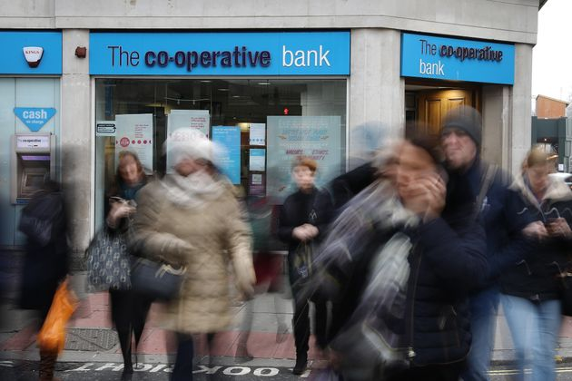 The Co-op Bank is being put up for