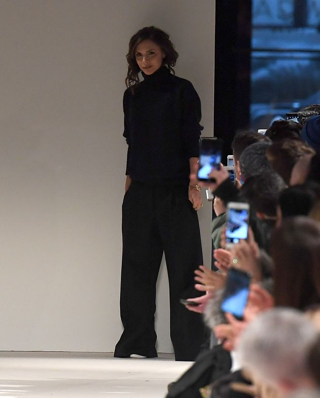 Victoria Beckham Reveals 'Empowering' New Collection At New York Fashion