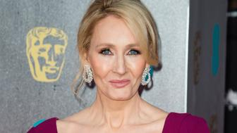 LONDON, ENGLAND - FEBRUARY 12:  J.K. Rowling attends the 70th EE British Academy Film Awards (BAFTA) at Royal Albert Hall on February 12, 2017 in London, England.  (Photo by Jeff Spicer/Getty Images)