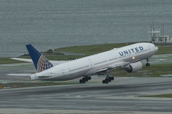 A United Airlines pilot was removed from a plane in Texas after she went on a bizarre political rant over the intercom.
