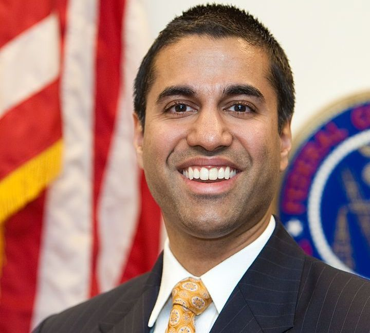 Incoming FCC Chairman Ajat Pai.