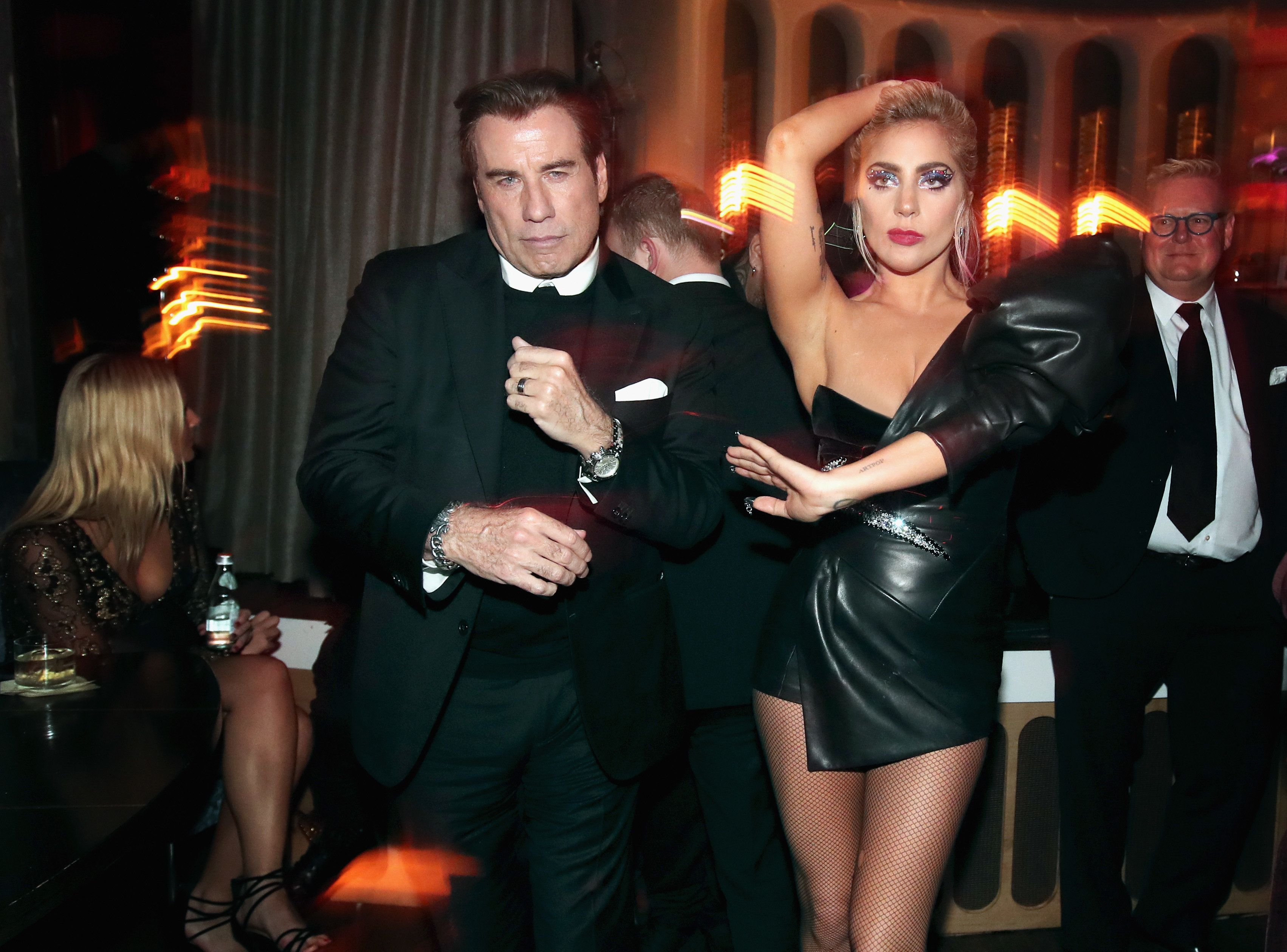 These Post-Grammys Pics Have Made Us Desperately Want To Party With John Travolta And Lady Gaga