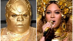 CeeLo Green's Grammys Outfit Got Meme'd Faster Than You Can Say