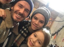 David Beckham's NYFW Family Selfie Is Giving Us All The Feels