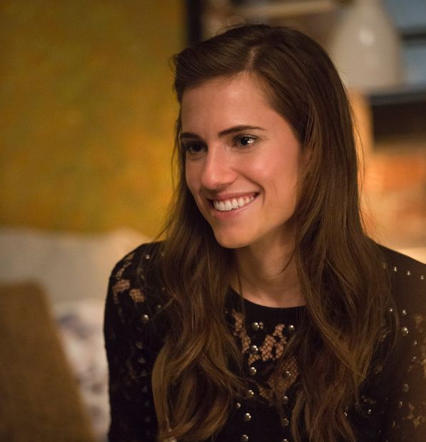 Allison Williams is keen for Marnie to stop making the same mistakes over and