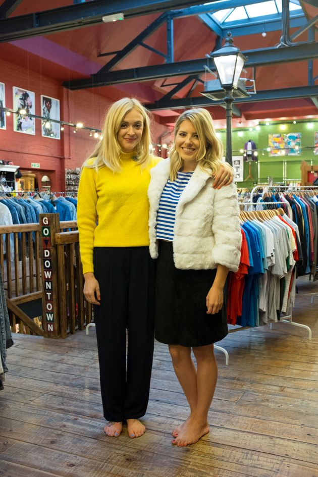Fearne Cotton And Mollie King Take On A Vintage Shopping Challenge In 'Fearne On