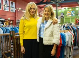 Fearne Cotton And Mollie King Take On A Vintage Shopping Challenge In 'Fearne On Fashion'
