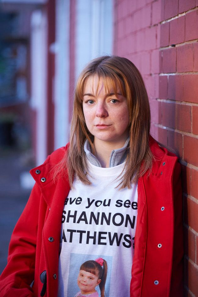 Sheridan Smith as Karen Matthews' friend Julie Bushby in BBC One's The