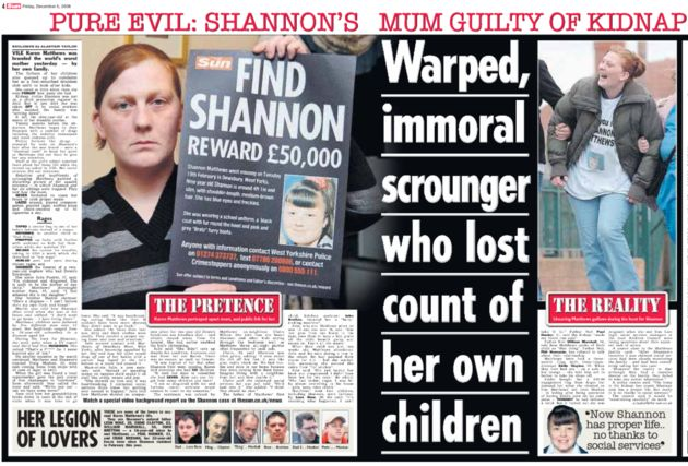 The Sun offered a 20,000 reward for information leading to Shannon Matthews safe return in 2008 which...