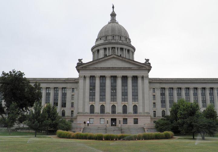 The Oklahoma Capitol in Oklahoma City.