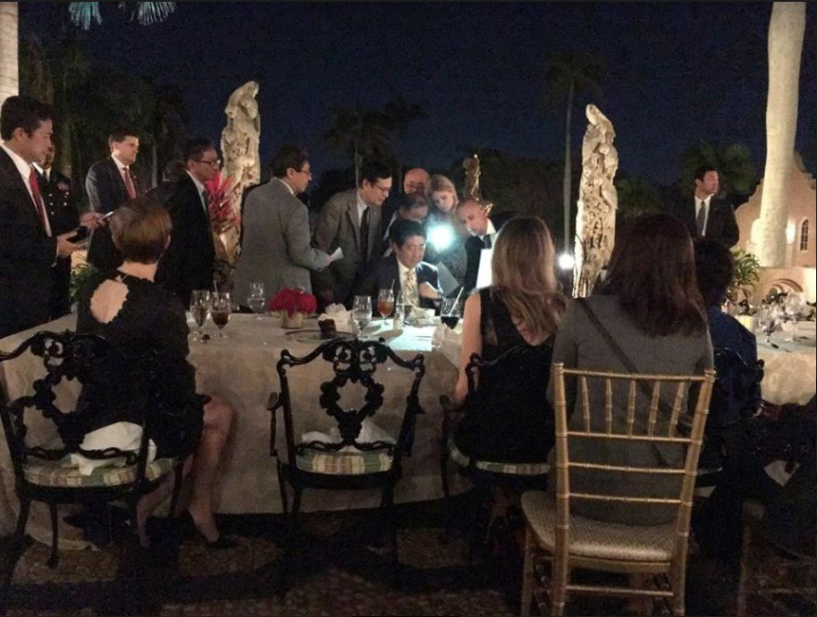 Photos Appear To Show Donald Trump Reviewing Sensitive Intelligence On The Mar-A-Lago