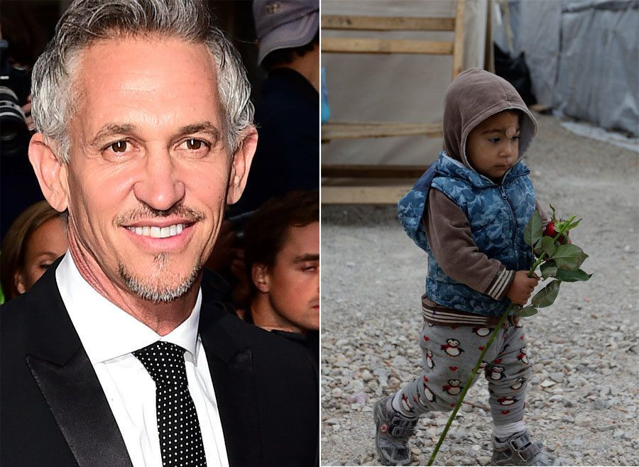 Gary Lineker Leads Calls To Take More Refugee Children With Open