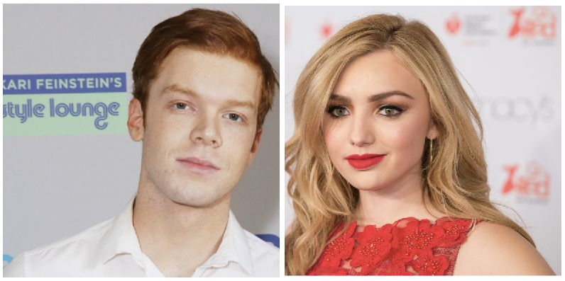 Cameron Monaghan and Peyton List.