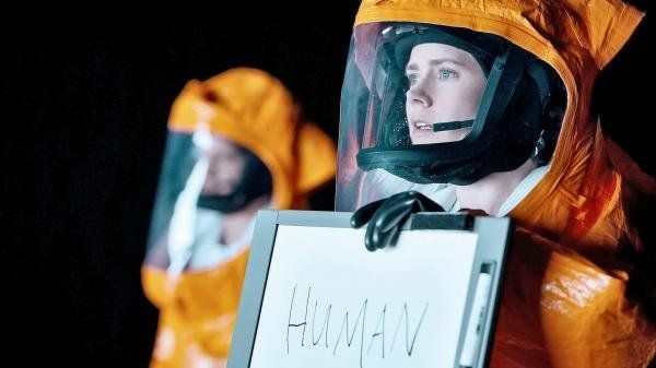 "A still from ""Arrival"" featuring Amy Adams."