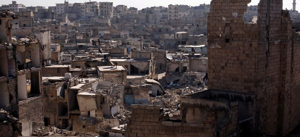 Report: Syrian Military Pounded Rebel-Held Aleppo With Chemical Weapons
