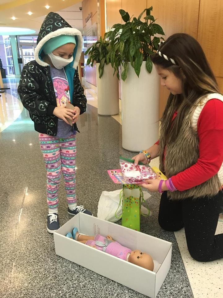 Bella wants to bring joy to kids in the hospital.