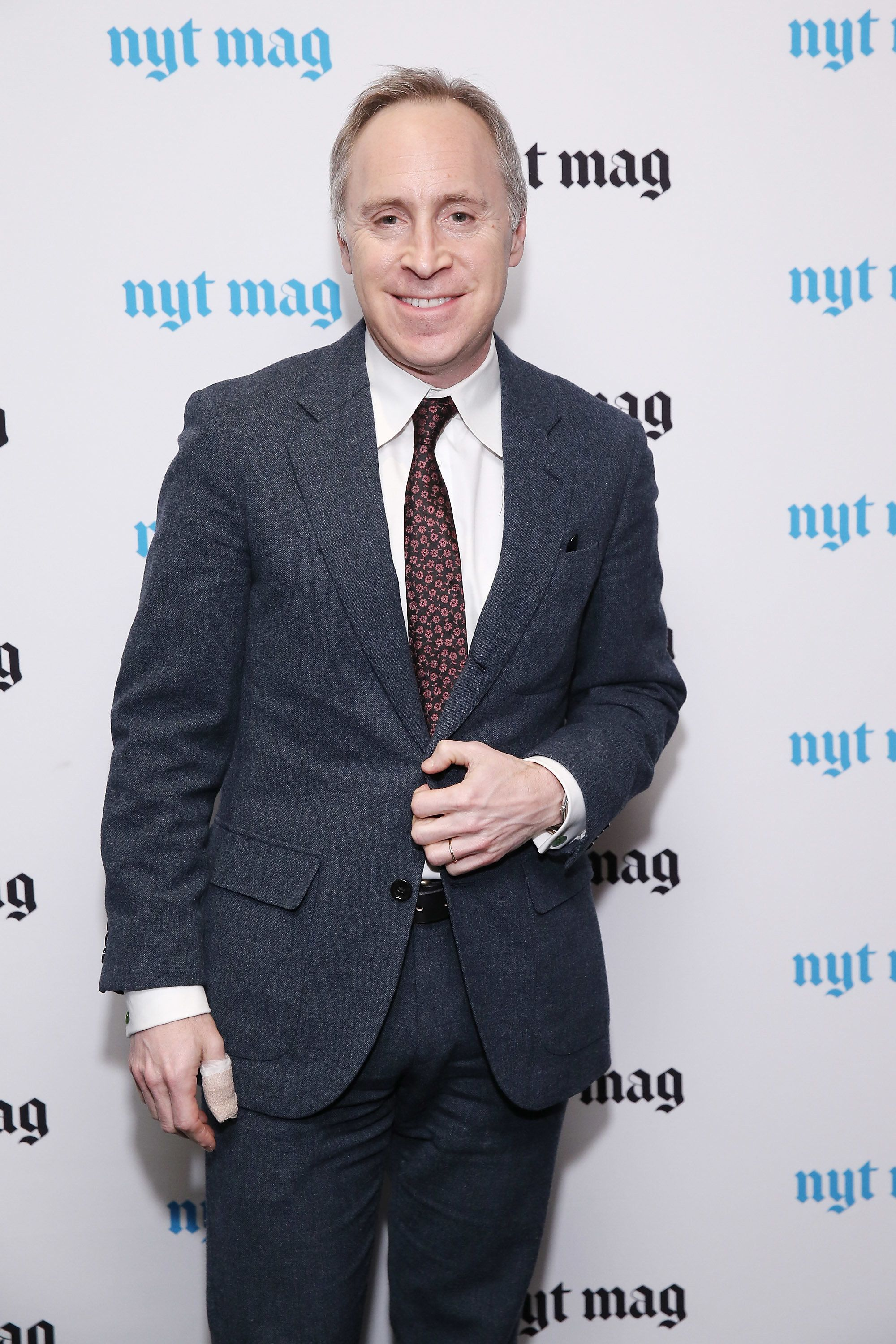 NEW YORK, NY - FEBRUARY 18:  Editor-in-Chief of Slate Group Jacob Weisberg attends The New York Times Magazine Relaunch Event on February 18, 2015 in New York City.  (Photo by Neilson Barnard/Getty Images)