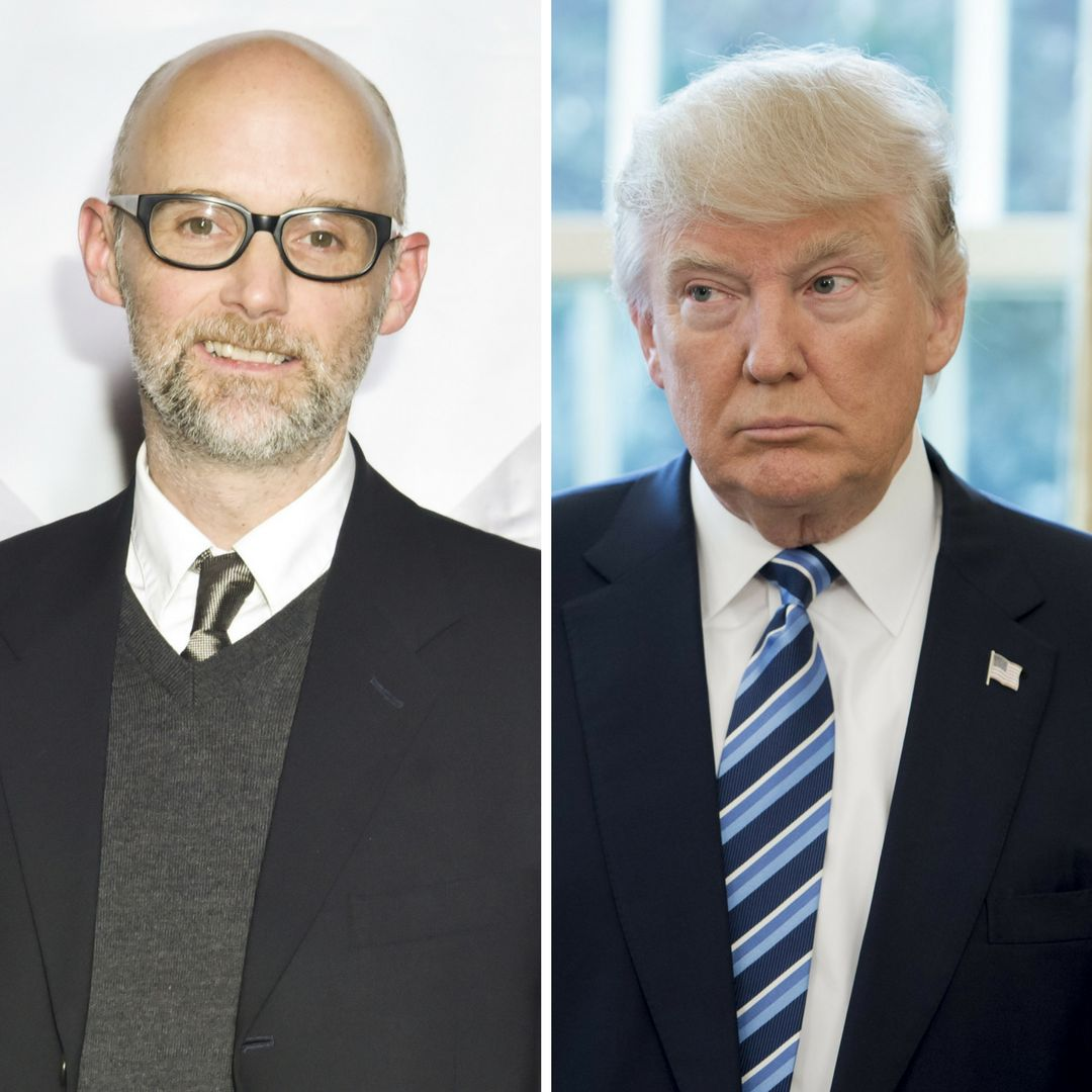 Moby is making some serious claims about Trump.