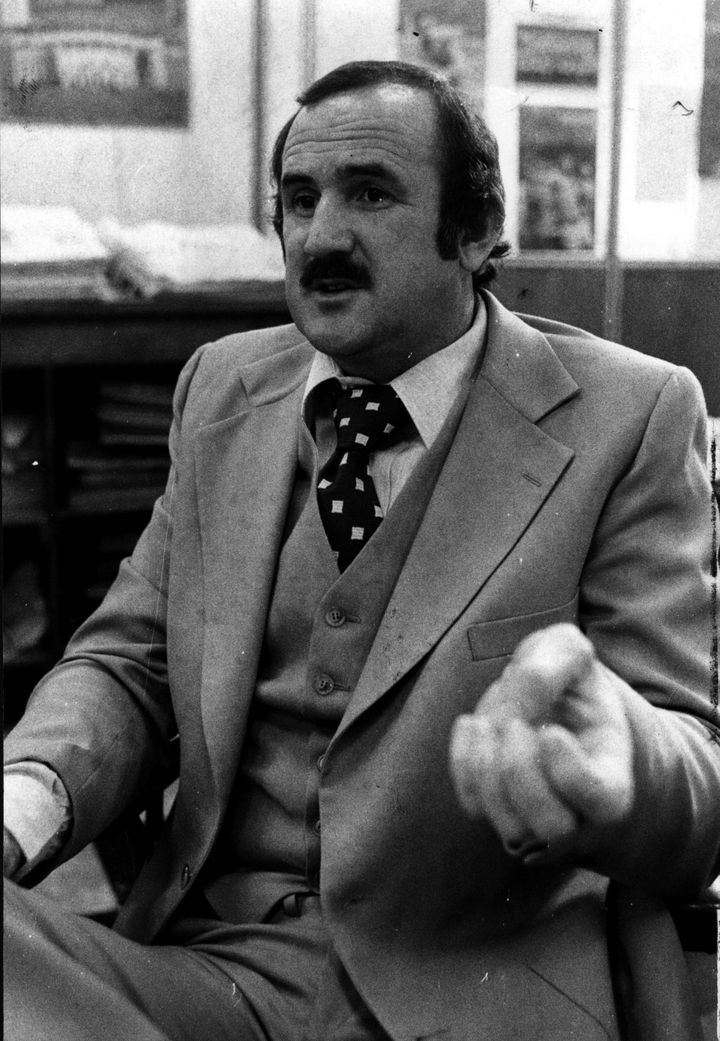 Colin Ridgway in 1977.