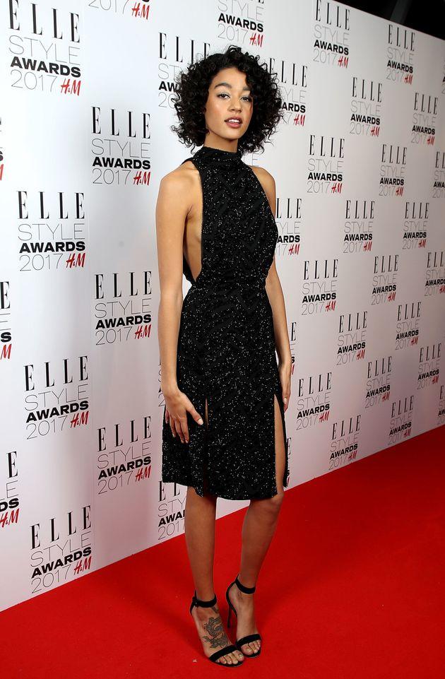 Damaris Goddrie at the Elle Style
