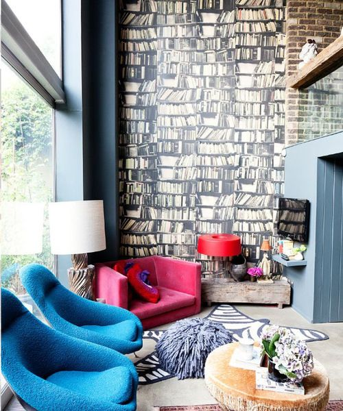 """<a rel=""""nofollow"""" href=""""https://www.houzz.com/photos/16707857/The-Selby-meets-Abigail-Ahern-eclectic-living-room-london"""" targ"""