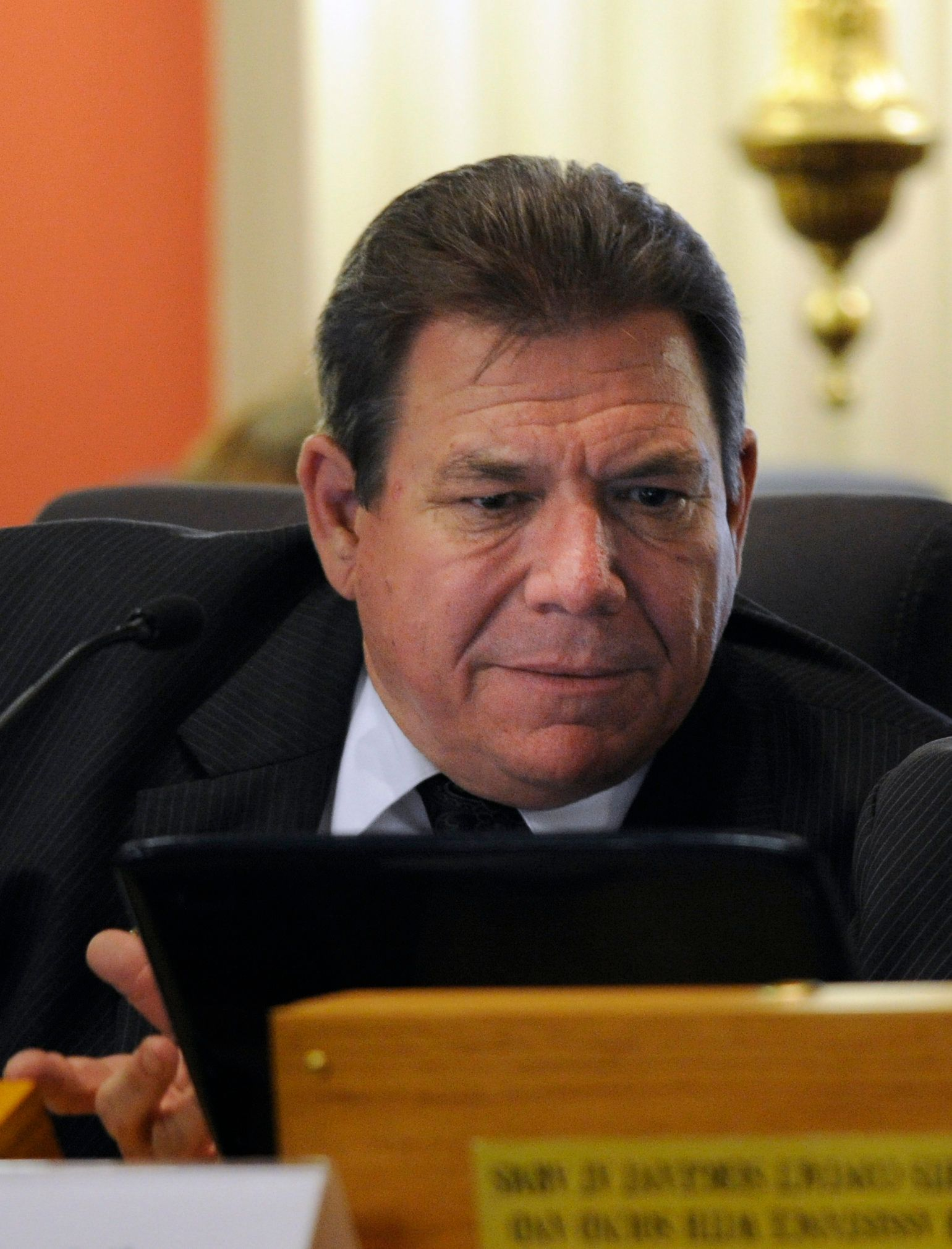 Sen. Ray Scott is seen in his previous role as a state representative in this 2012 file photo.