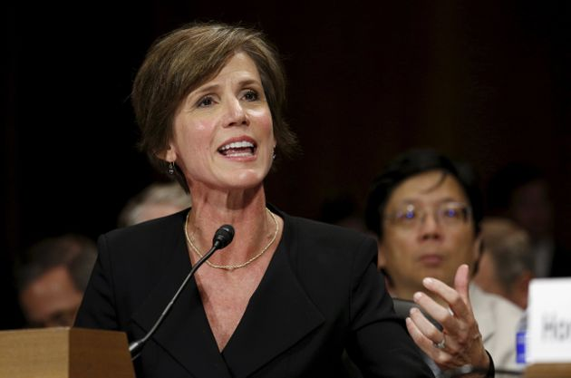 Sally Yates, then acting U.S. attorney general, sounded an alarm weeks ago about Michael