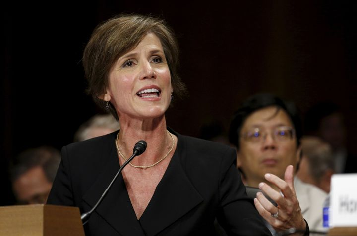 Sally Yates, then acting U.S. attorney general, sounded an alarm weeks ago about Michael Flynn.