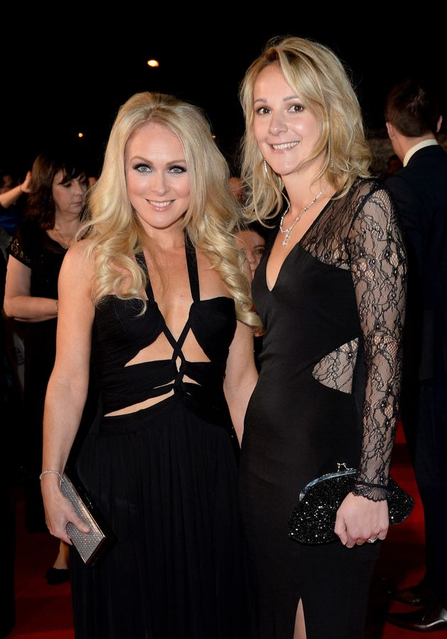Michelle and Rosie at the NTAs in