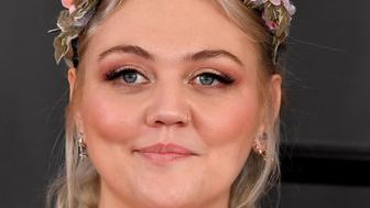 LOS ANGELES, CA - FEBRUARY 12:  Elle King arrives at the 59th GRAMMY Awards on February 12, 2017 in Los Angeles, California.  (Photo by Steve Granitz/WireImage)