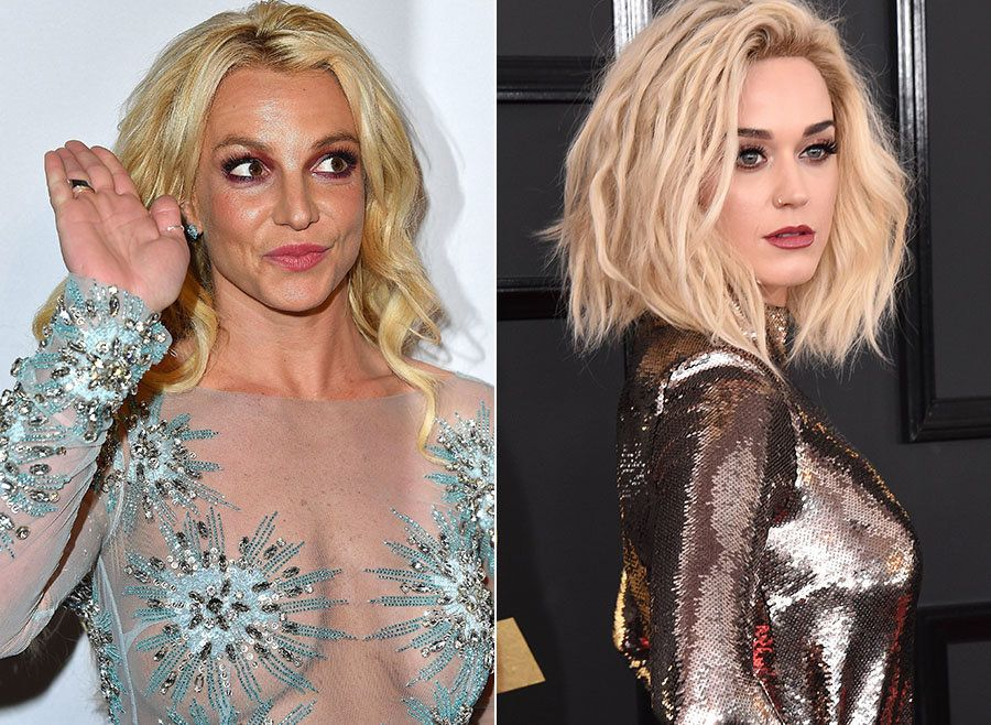 Britney Spears Rises Above Katy Perry's Grammys